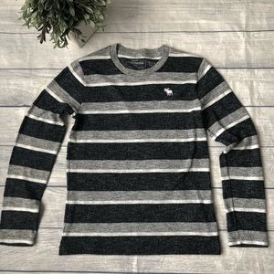 Abercrombie Striped Knit Long Sleeve T-Shirt